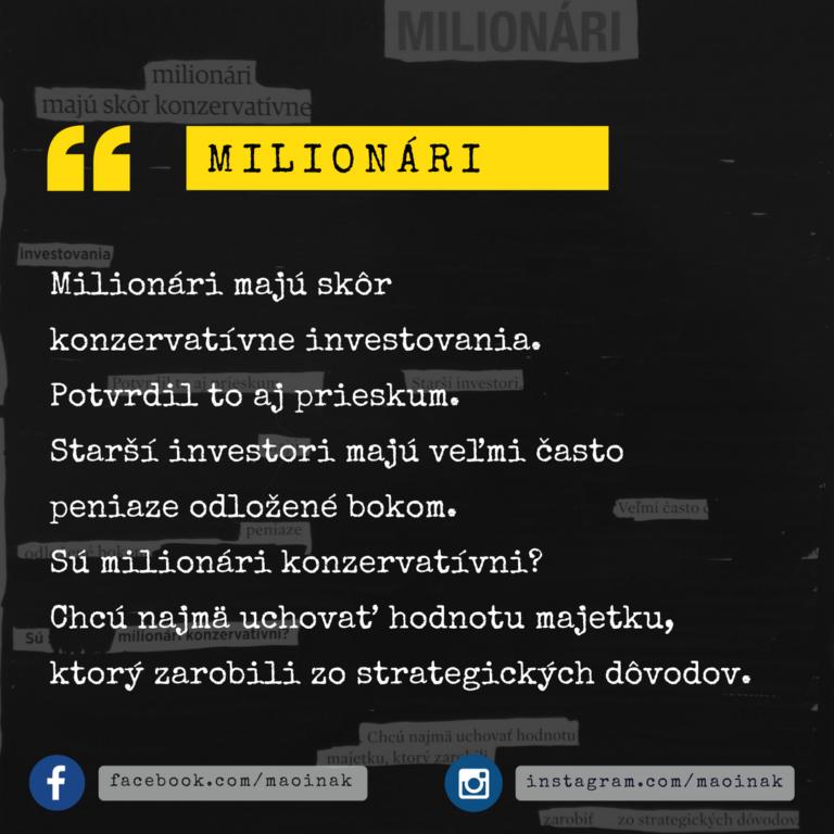 Kreatívna poviedka #5 Milionári